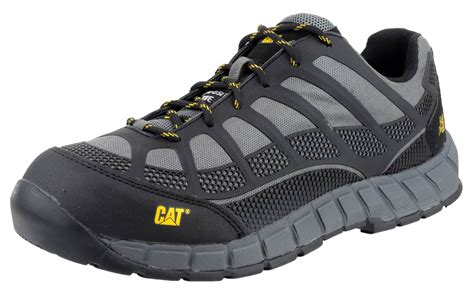 Caterpillar Safety Shoes Leather 1 Caterpillar Cat Streamline S1p Safety Nubuck Trainer