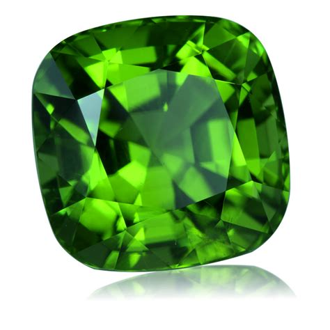 pakistan peridot cushion 7 48ct king gems