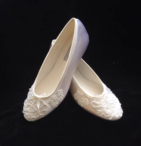 lace ballet slippers ballet alencon lace ballet flats wedding shoes 2224838
