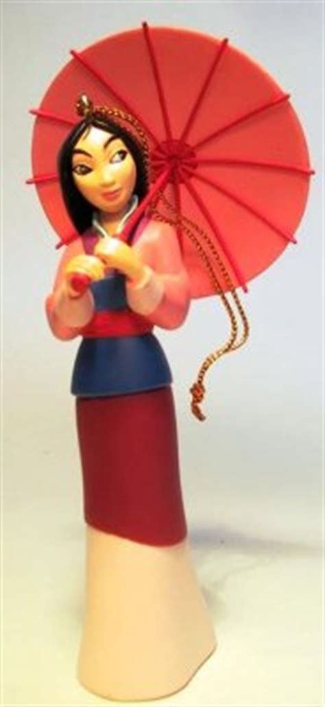 mulan ornament grolier from our christmas collection