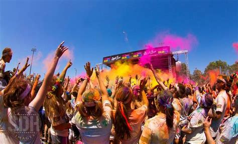 color run pomona color run on the coast coast daily