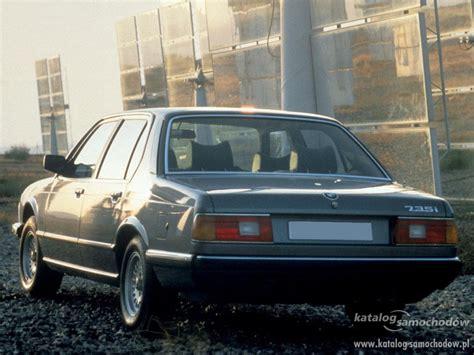 bmw 725i bmw 7 e23 725i 110kw katalog samochod 243 w
