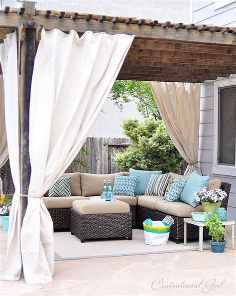 pergola curtain ideas 25 best ideas about pergola curtains on pinterest deck