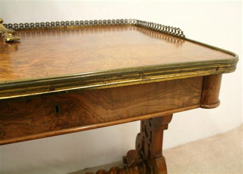 antique victorian edwardian walnut library reading antique mid victorian burr walnut library table antiques