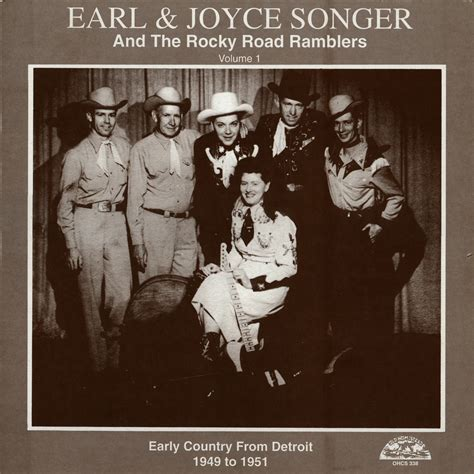the earl and the earl joyce songer michigan hillbilly bop 1950 1954