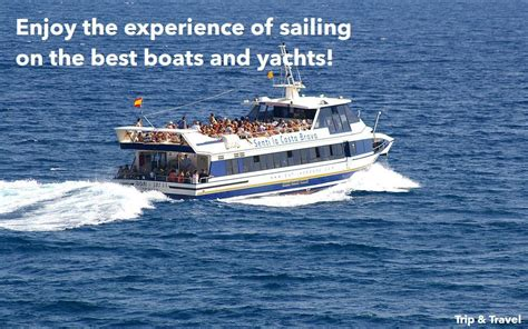 boat hire tenerife tenerife boat charter hire trips excursions trip travel