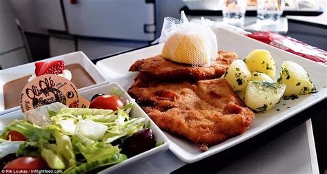 the best meals according to an in flight food addict daily mail online