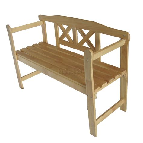 outdoor wooden bench outdoor home wooden 2 seat seater garden bench furniture