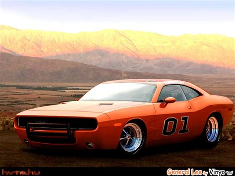 dodge quot general lee quot charger concept based on new dodge