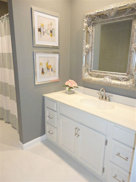 white bathroom remodel ideas livelovediy diy bathroom remodel on a budget