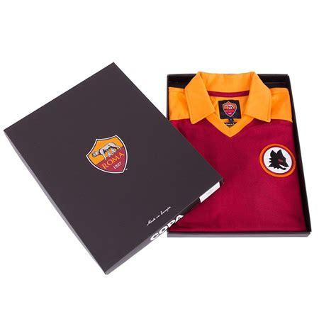 Kaost Shirt As Roma Il Lupo copa football maglia vintage as roma 1980 sportsaga it
