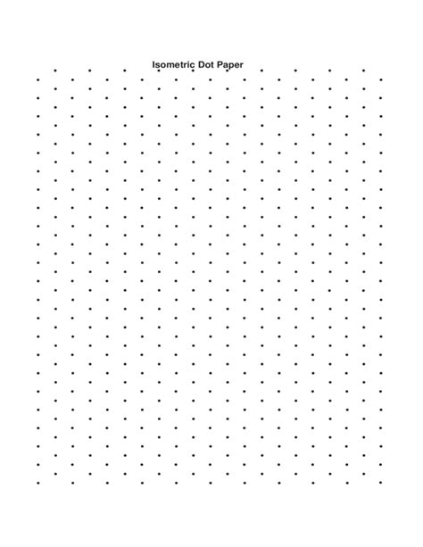 printable isometric dot paper a4 isometric dot paper free download