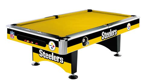 table felt pittsburgh steelers pool table