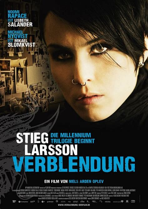 the girl with the dragon tattoo 2009 the with the poster 1 of 6