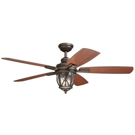 allen and roth outdoor ceiling fan allen roth castine 52 in rubbed bronze ceiling fan