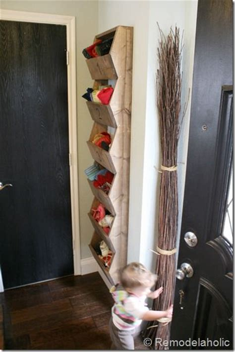 diy shoe rack by front door 1000 images about organize winter scarves hats and