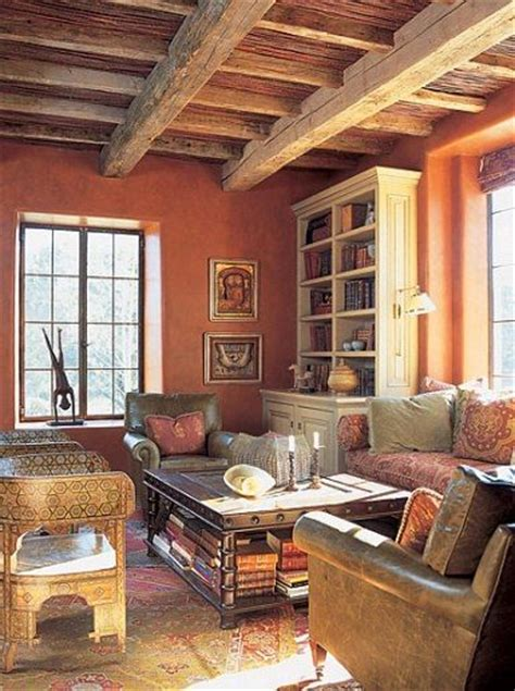 pleasing santa fe style homes with stone top coffee table santa fe adobe and fes on pinterest