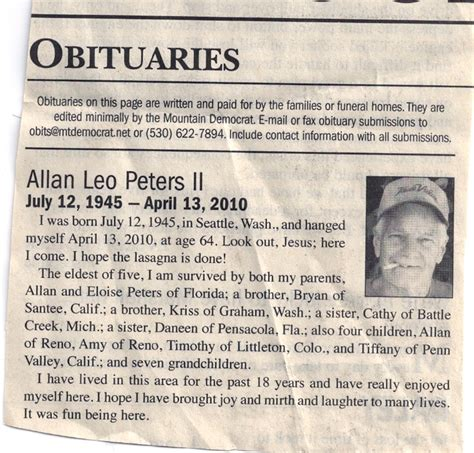 Newspaper Obituary Template Template Business Newspaper Obituary Template