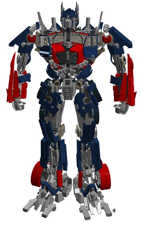 Brick Sy 951 Transformer Optimus Prime 2 In 1 Lego Figure Murah lego optimus prime by archus7 on deviantart