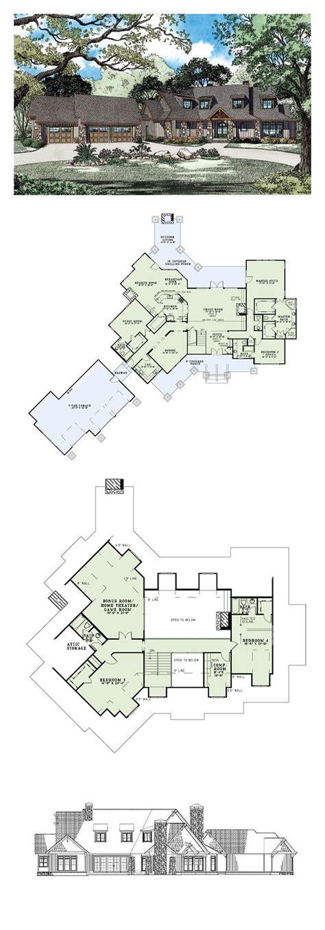detailed house plans craftsman european tuscan house plan 82261 beautiful