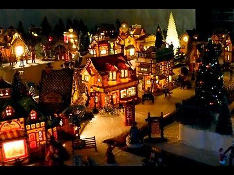 minuiture christmas towns kathy bernard s miniature town