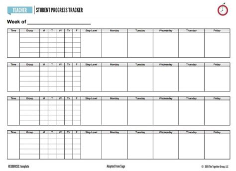 Inside Sage S Clipboard A Super Duper Student Tracker The Together Teacher The Together Teacher Tracking Student Progress Template
