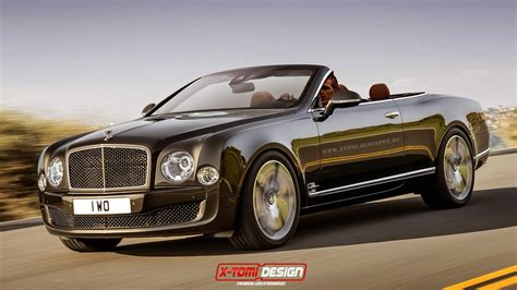 Bentley Mulsanne Speed Convertible Rendered Into Reality