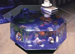 Coffee Fish Tank Table 20 Creative And Fish Tank Aquariums Spicytec