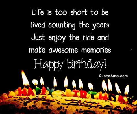 life   short   counting  years quote amo