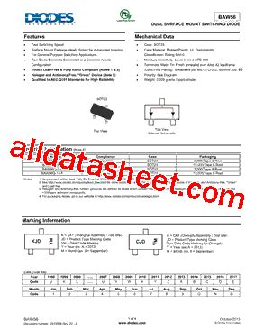 diodes inc b140 13 f baw56 13 f datasheet pdf diodes incorporated