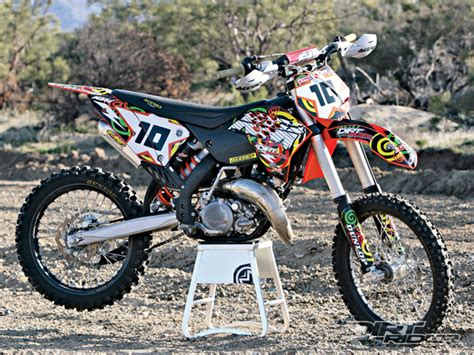 Modification Dirt Bike 125cc by Ktm 125 Sx Best Photos And Information Of Modification