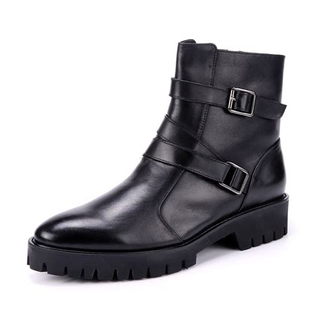 slip on motorcycle boots leather s motorcycle boots formal shoes