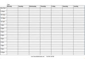 blank daily schedule template 7 blank daily schedule memo formats