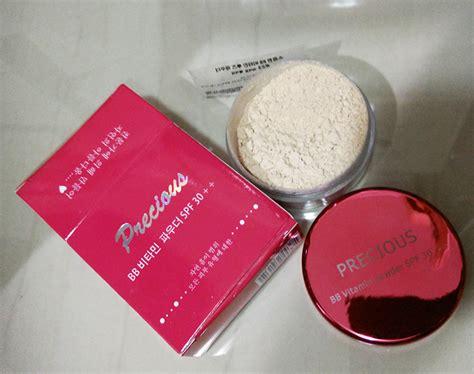 Precious Bb Vitamin Powder Spf30 Pink Jar jual kosmetik korea murah free ongkir harga grosir tangan pertama 100 original etude