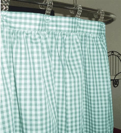 mint green and white curtains mint green and white gingham check shower curtain