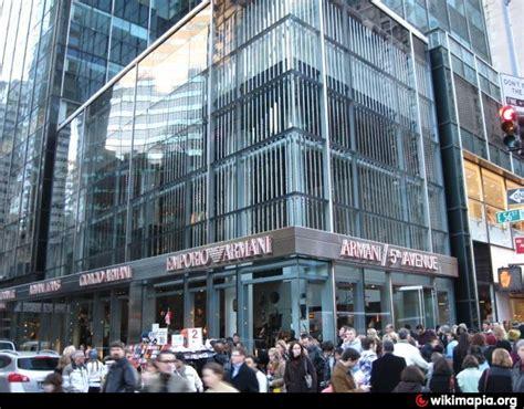 nyc armani emporio armani new york city new york fifth avenue 717