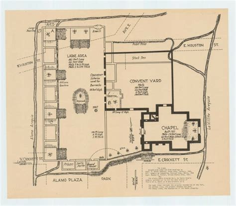 alamo floor plan 1836 93 best images about alamo and texas history on pinterest