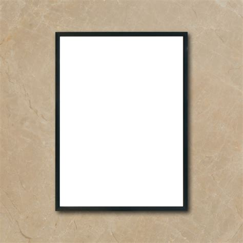Wall Frame Kayu Foolish blank poster www pixshark images galleries with a bite