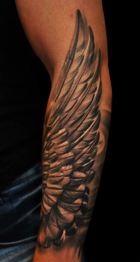 angel wings tattoos for men pin by gherghe florin on cruci