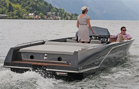 electric boat builders austrian boat builder installs torqeedo electric drives in