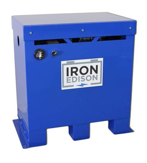 iron edison introduces lithium battery  solar energy