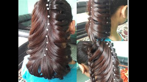 hairstyle banany ka easy tereka design hair style choti new hairstyle 2017 youtube