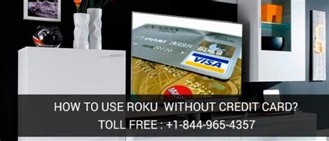 how to make account without credit card is it possible to create roku account without credit card