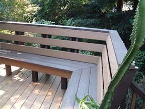 deck bench seats 17 best ideas about deck bench seating on pinterest deck
