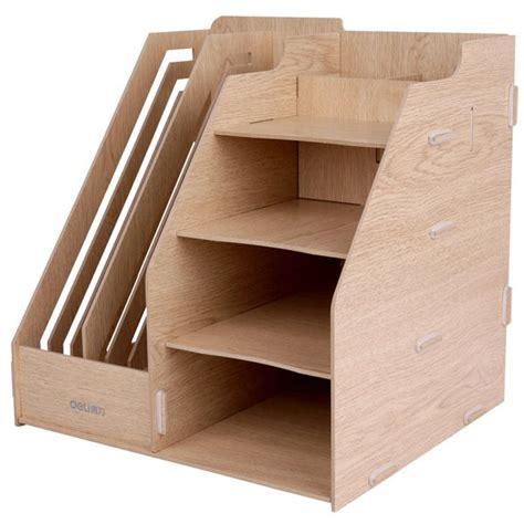 jual diy portable stationery rack rak buku tempat
