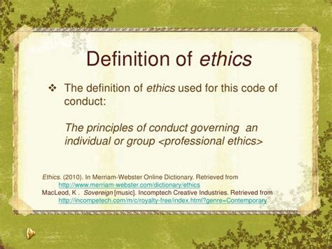 professional definition of professional by websters code of ethics for online learners and teachers