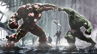 Hulkbuster Ironman Vs Hulk Wallpapers   HD Wallpapers