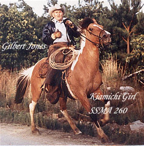 gilbert jones mustangs colonial horses choctaw and