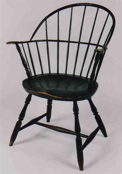 american bow back chair late 18th early 19th c american new bow