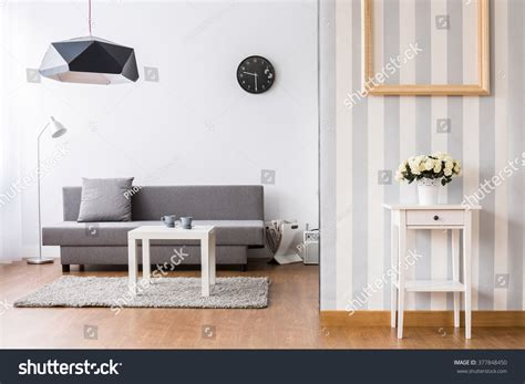 wallpaper to go with grey sofa stylish living room with grey sofa and small coffee table